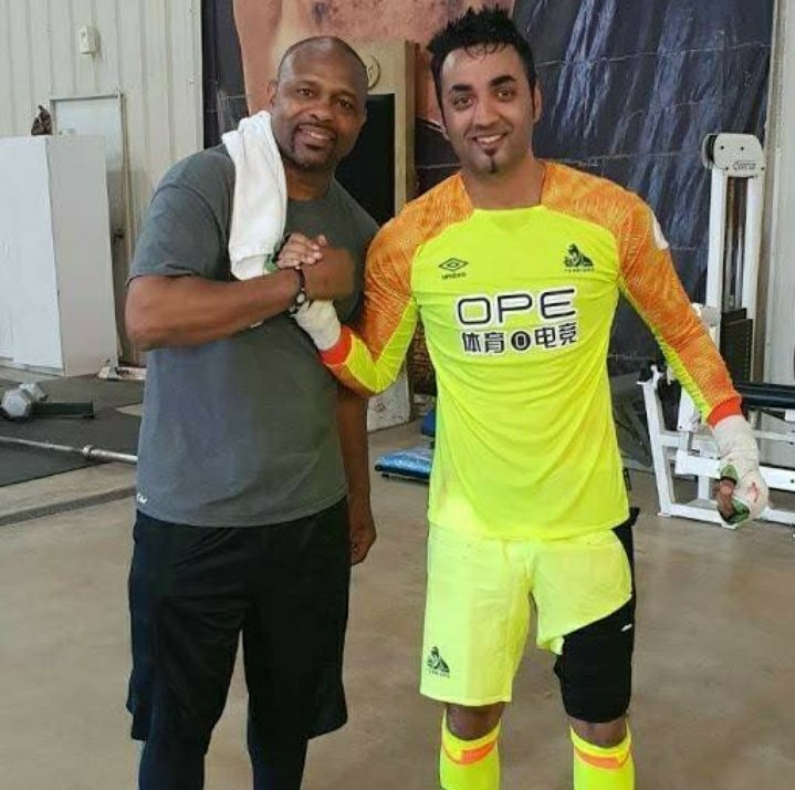 Wonder when I'll be able to train with my trainer Roy Jones Jr again. Staying positive and focused dispite the turmoil. #ChampionshipRoundsMentality #Boxing #RoyJonesJr #Florida #Htafc #lockdownuk #Florida