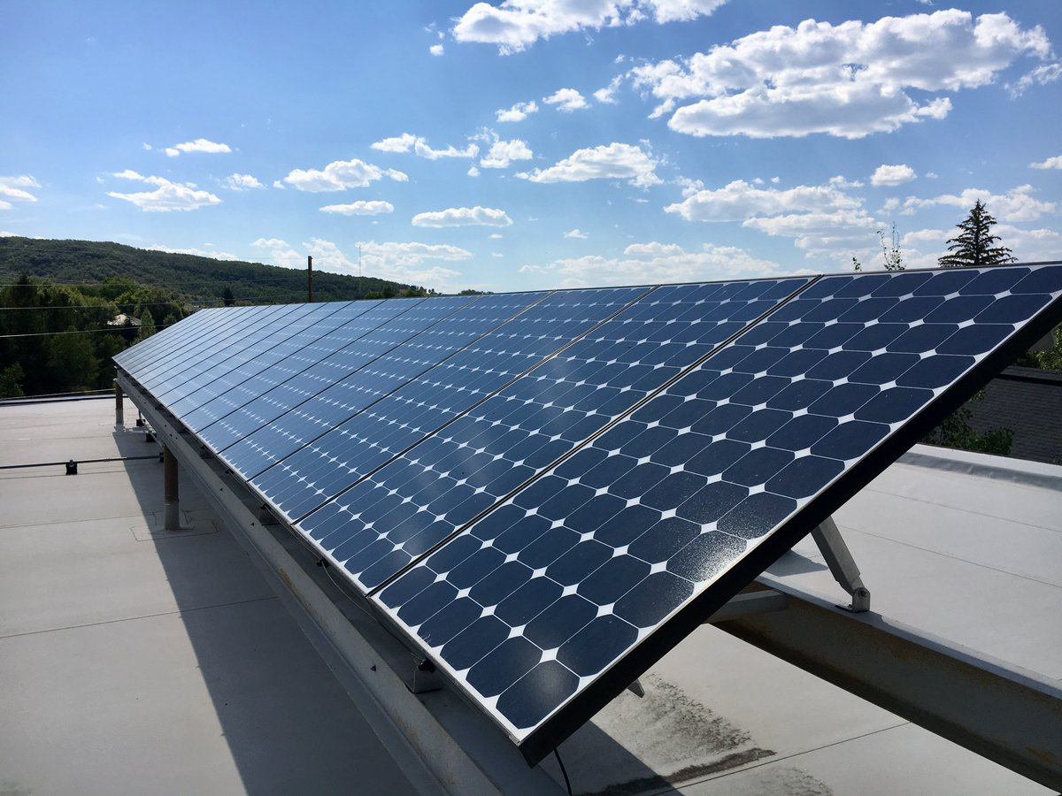 Great to see the smaller communities punching above their weight in #solar projects! Nice work, @CityofSteamboat and City of Craig.
