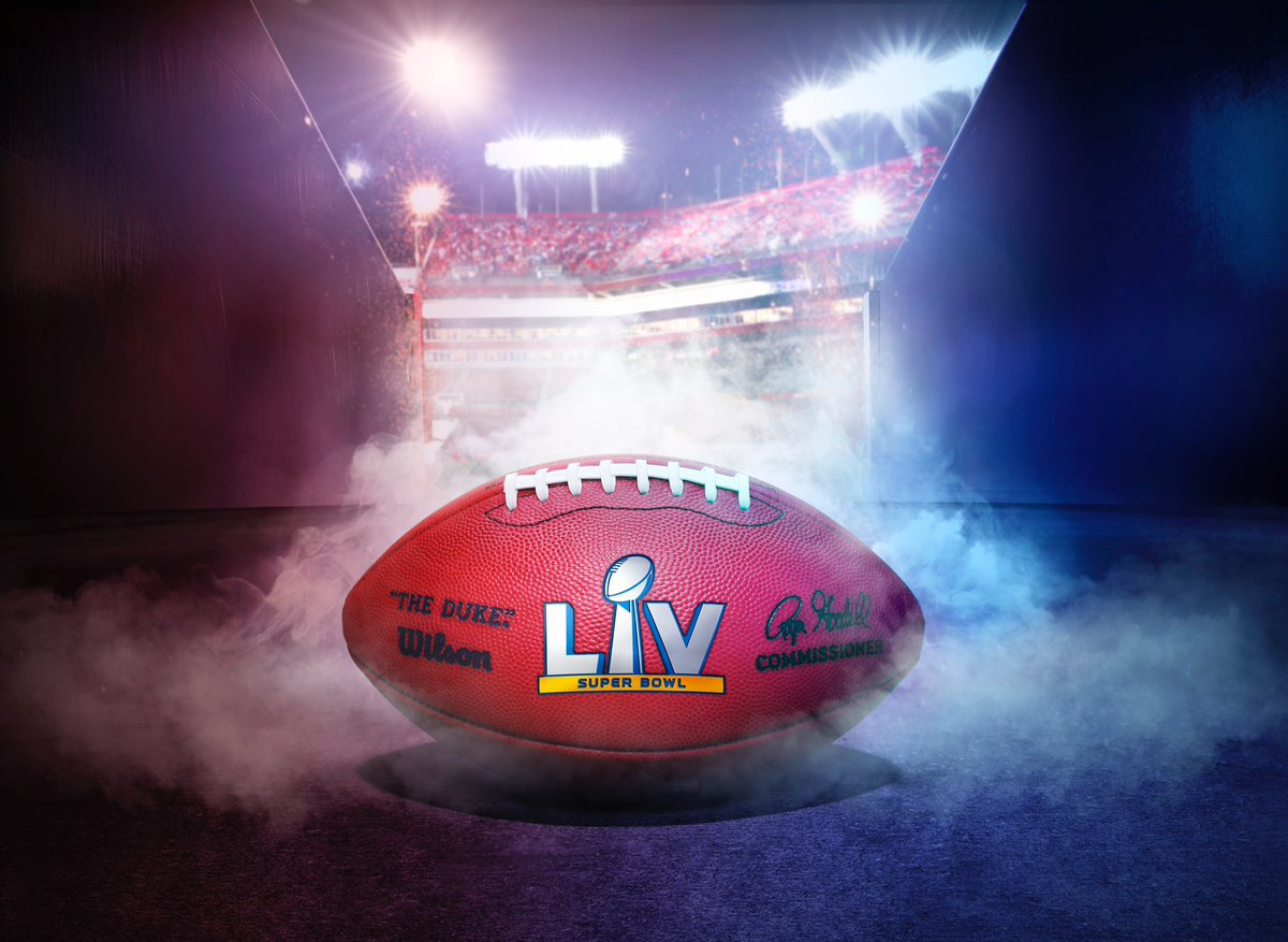 Never one to shy away from the spotlight. Get ready for the 55th Super Bowl by grabbing the official #SBLV Duke 🏈 today! #wilsonfootball  SBLV football:   Full SBLV product line: