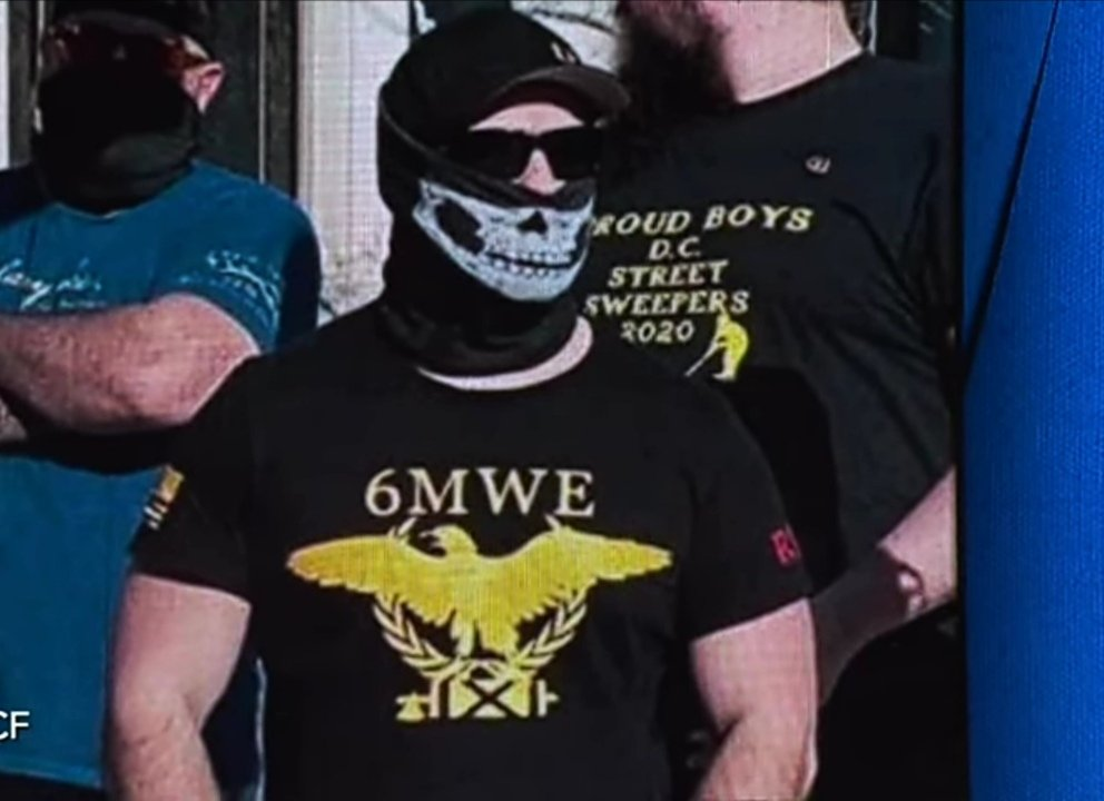 This is one of the Capitol Hill assailants, a member of Qanon, the organization President Trump has called patriots. The shirt has an anti-Semitic message about Jews, in the future don't call anyone who isn't a friend. @netanyahu @YairNetanyahu @Jerusalem_Post @haaretzcom https://t.co/bbdawBMTpi