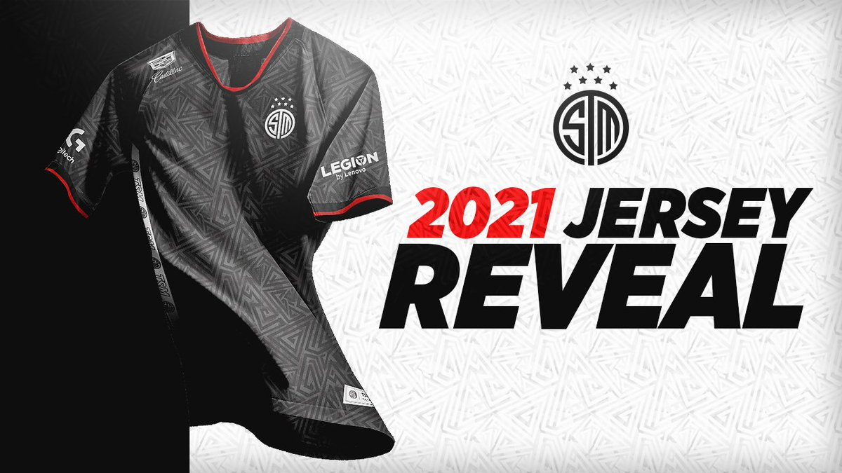 Introducing the official #TSM jersey for 2021!