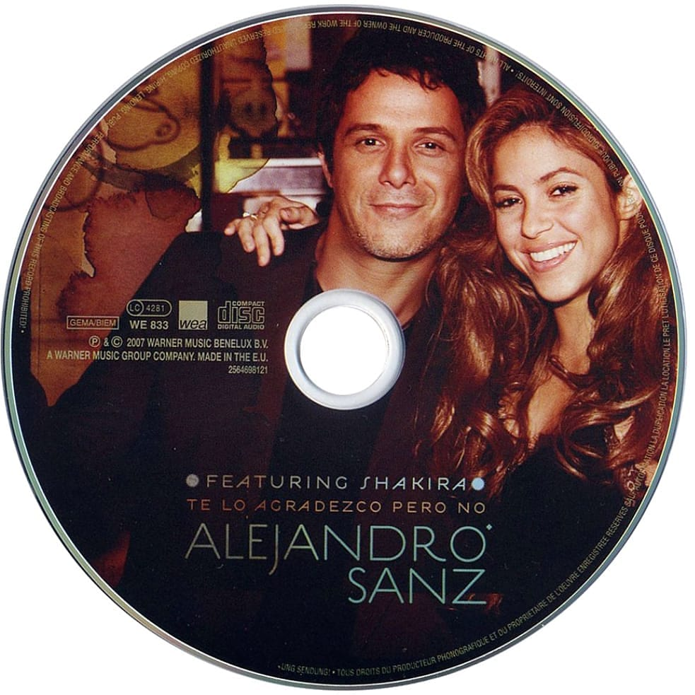 @AlejandroSanz @shakira Wooowwww sois increíbles!! 👏👏👏 temazoooo #TeLoAgradezcoPeroNo