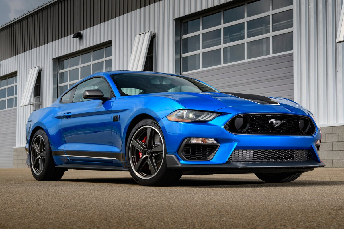 Here's some motivation for you this #MustangMonday! 😎💙 #GreaterTXFord #Ford #Mustang #Mach1