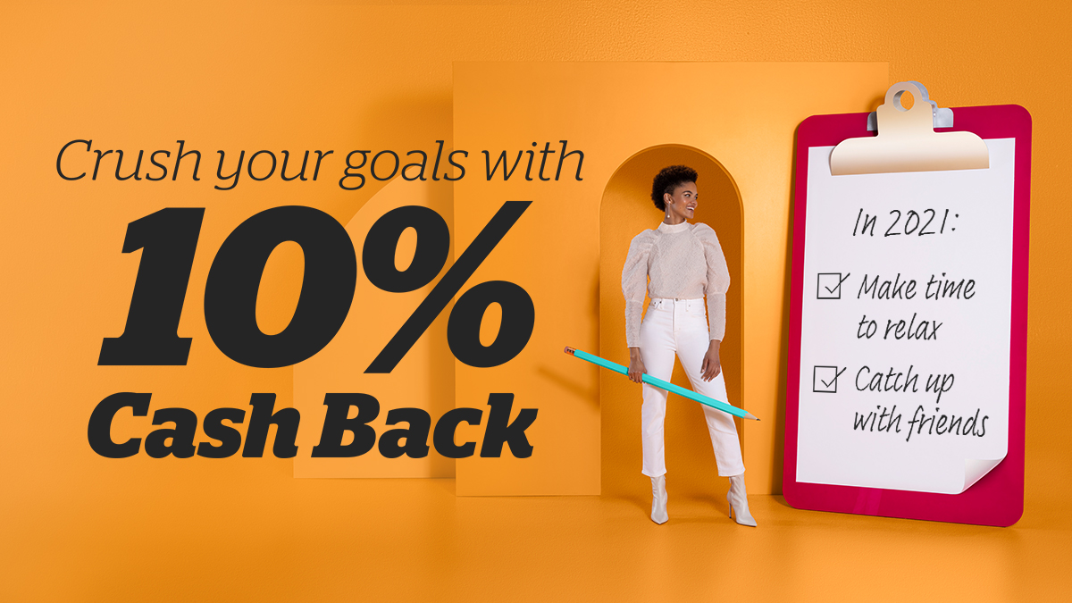 """Check """"Start shopping smarter"""" off your list. ✔ Get 10% Cash Back at , JCPenney, Michaels and more."""