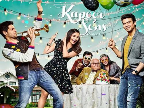 Another night another gem!! #KapoorAndSons how good is this film! #ShakunBatra 👏🏽👏🏽 & the rest of the cast & crew! Miss @chintskap 😔