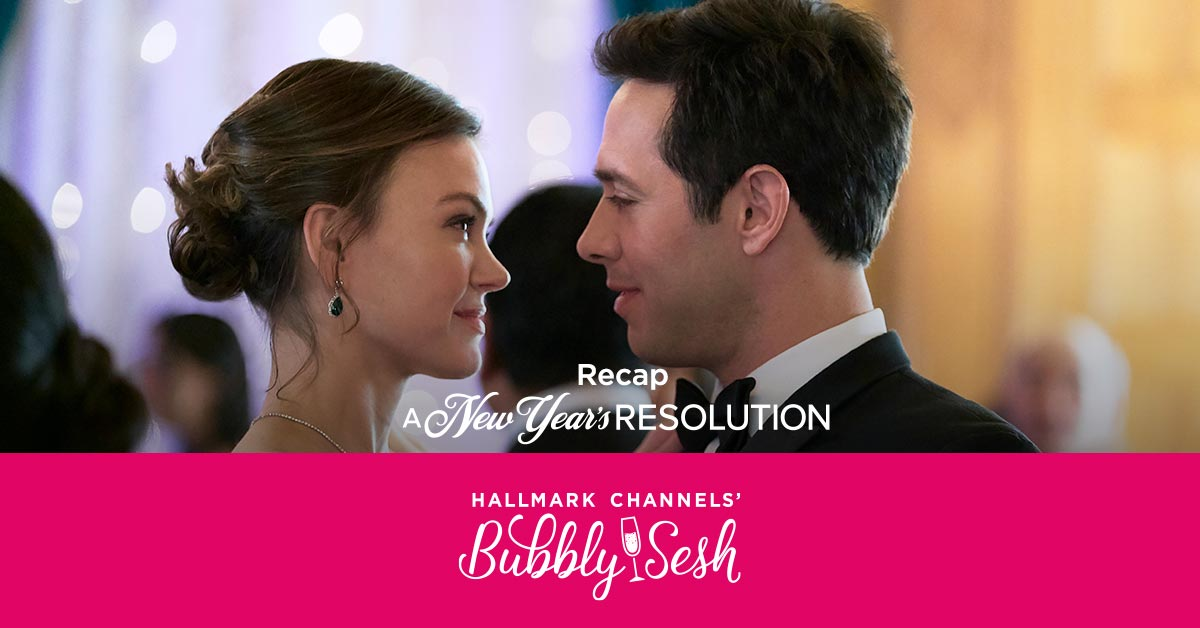 There's a new episode from @thebubblysesh recapping all of the fun from this weekend's Hallmark Channel Original Premiere #ANewYearsResolution! Will you be listening? We hope you said 'yes!'