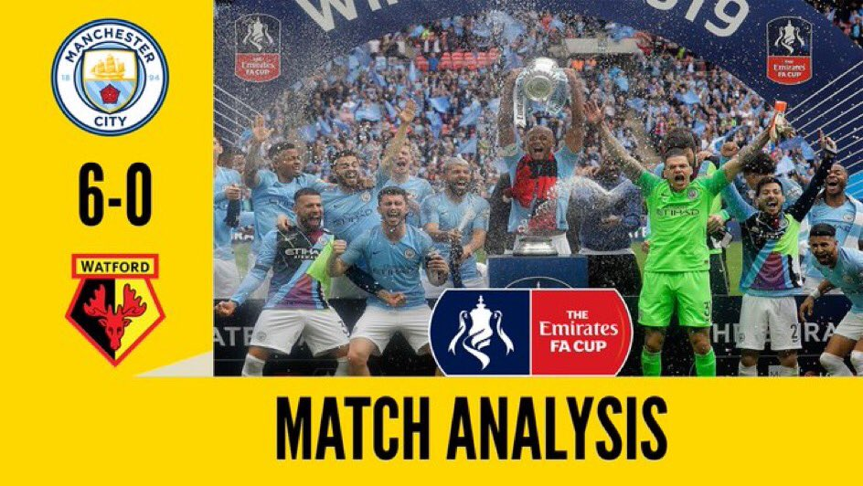 Replying to @DeBruyneProp: Remember when we got a easy draw in the FA Cup final 😂