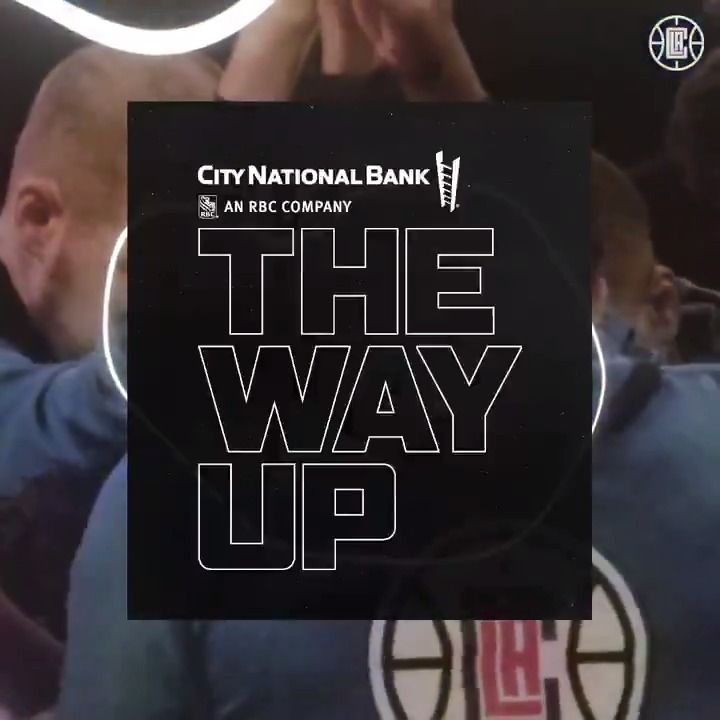 Replying to @LAClippers: A mix of our best plays for your Monday.  📼 The Way Up with @CityNational