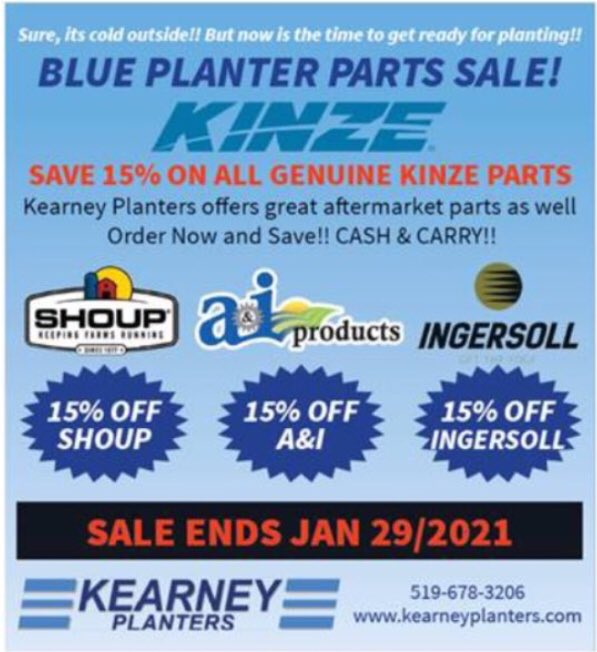 15 days till the sale ends..... get your parts, save money, be ready for #plant2021