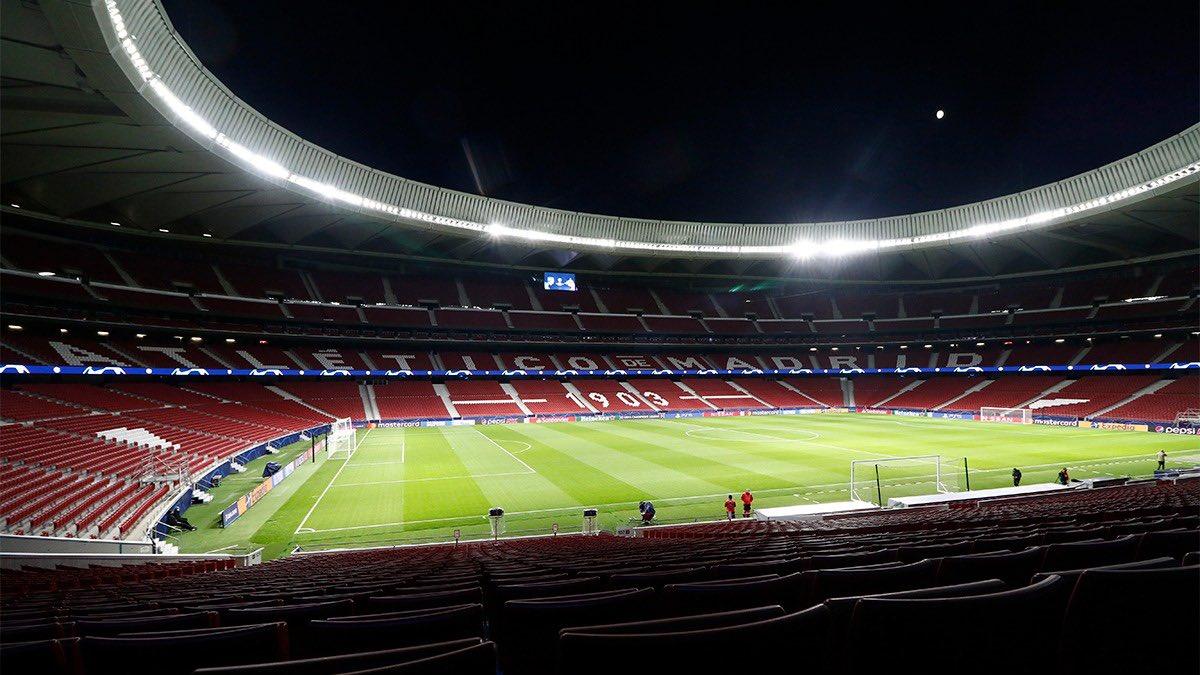 🆕 ¡Hola, 2⃣0⃣2⃣1⃣! 🏧 ¡Mañana vuelve el @Atleti a casa❗❕❗  🔴⚪ #AúpaAtleti | ⚽ #AtletiSevillaFC