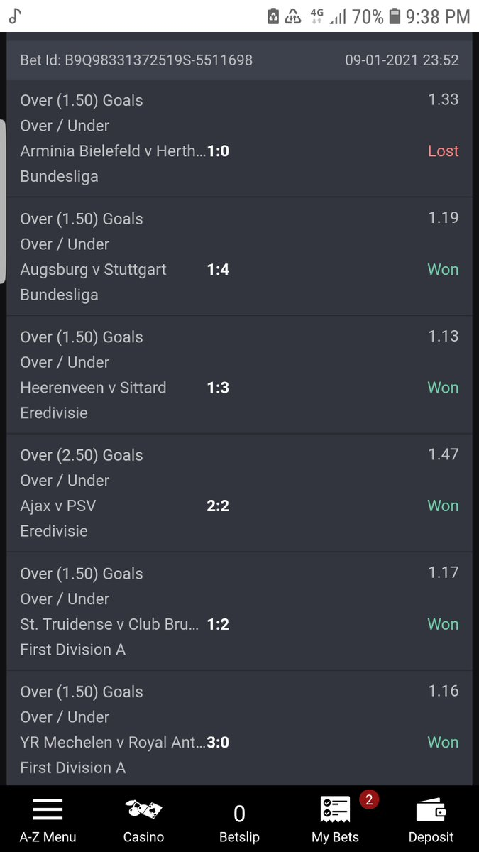 @Bet9jaOfficial My ticket of 20 games 19 went through which my money was supposed to be N46,680 i was only paid N2,298 Besides the game that cut was just 1.33 odds out of 5301 odds. I demand for my money oh.