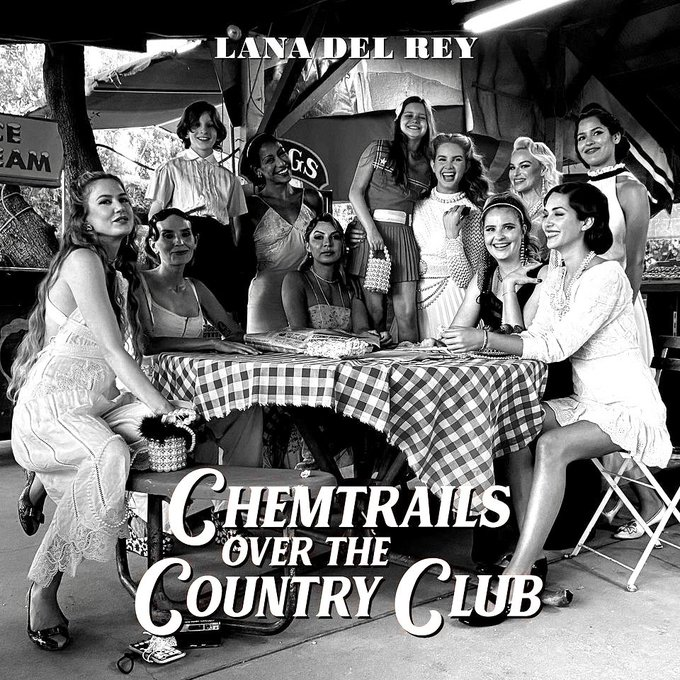 .@LanaDelRey's 'Chemtrails Over The Country Club' is on the way https://t.co/ZgkhlxFipZ https://t.co/7dqBPhNuT6