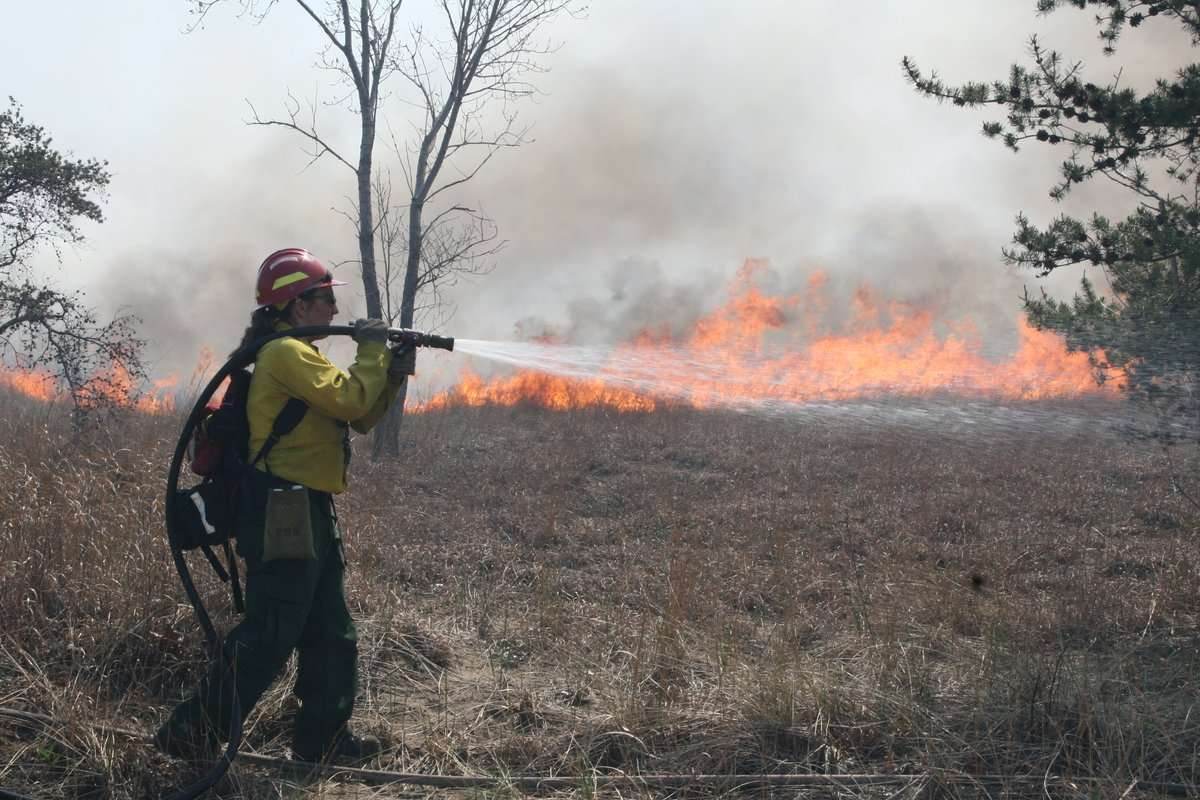 If you're interested in becoming a wildland firefighter, we have some resources for you! Did you know that there are several different wildland firefighting positions? #PlotYourPath #FireYear2021 Learn about a few of these positions: