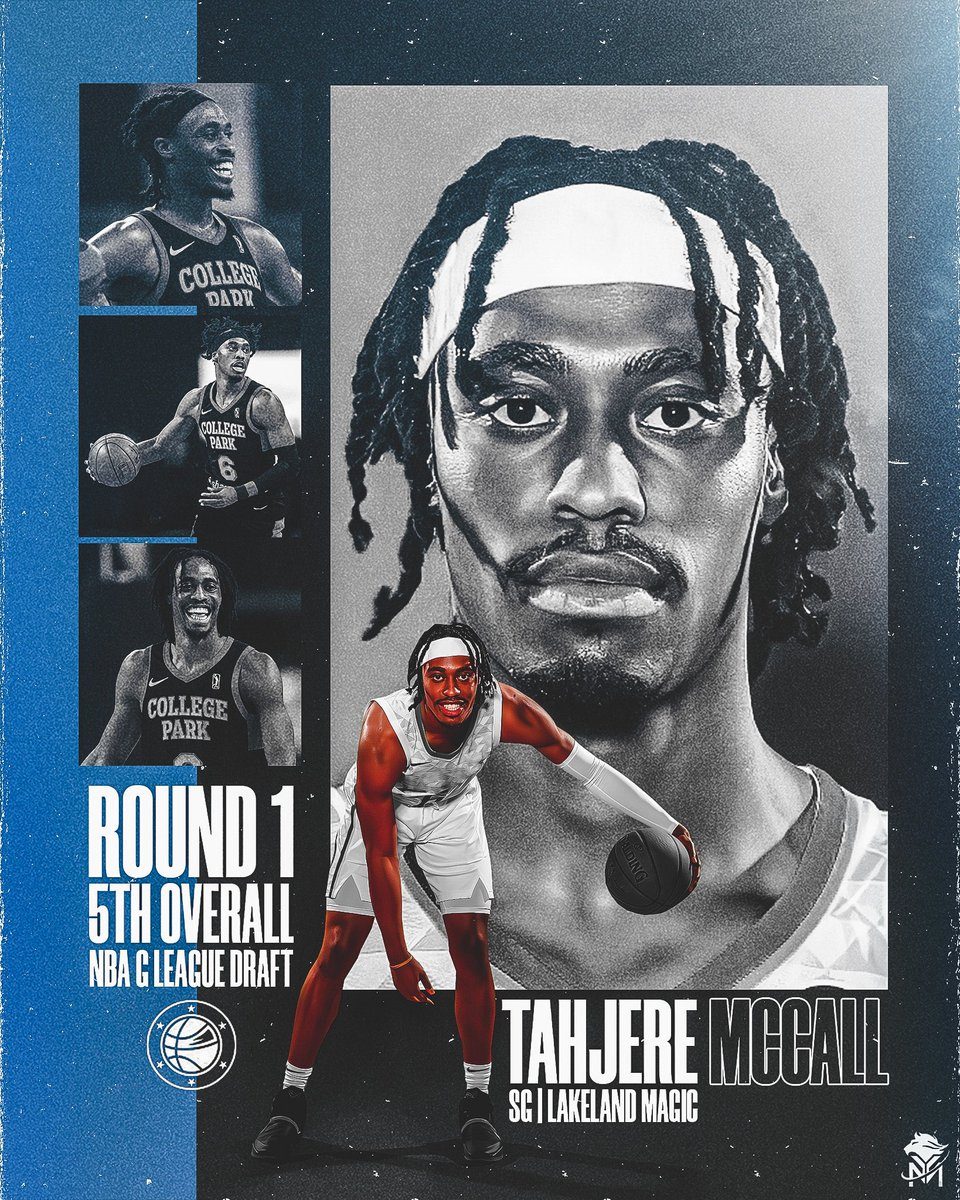 Congrats to our very own @215tahj on being drafted 5th Overall by the @LakelandMagic in the #GLeagueDraft   #YMAPAA