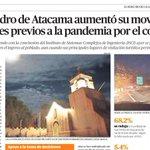 Image for the Tweet beginning: San Pedro de Atacama aumentó