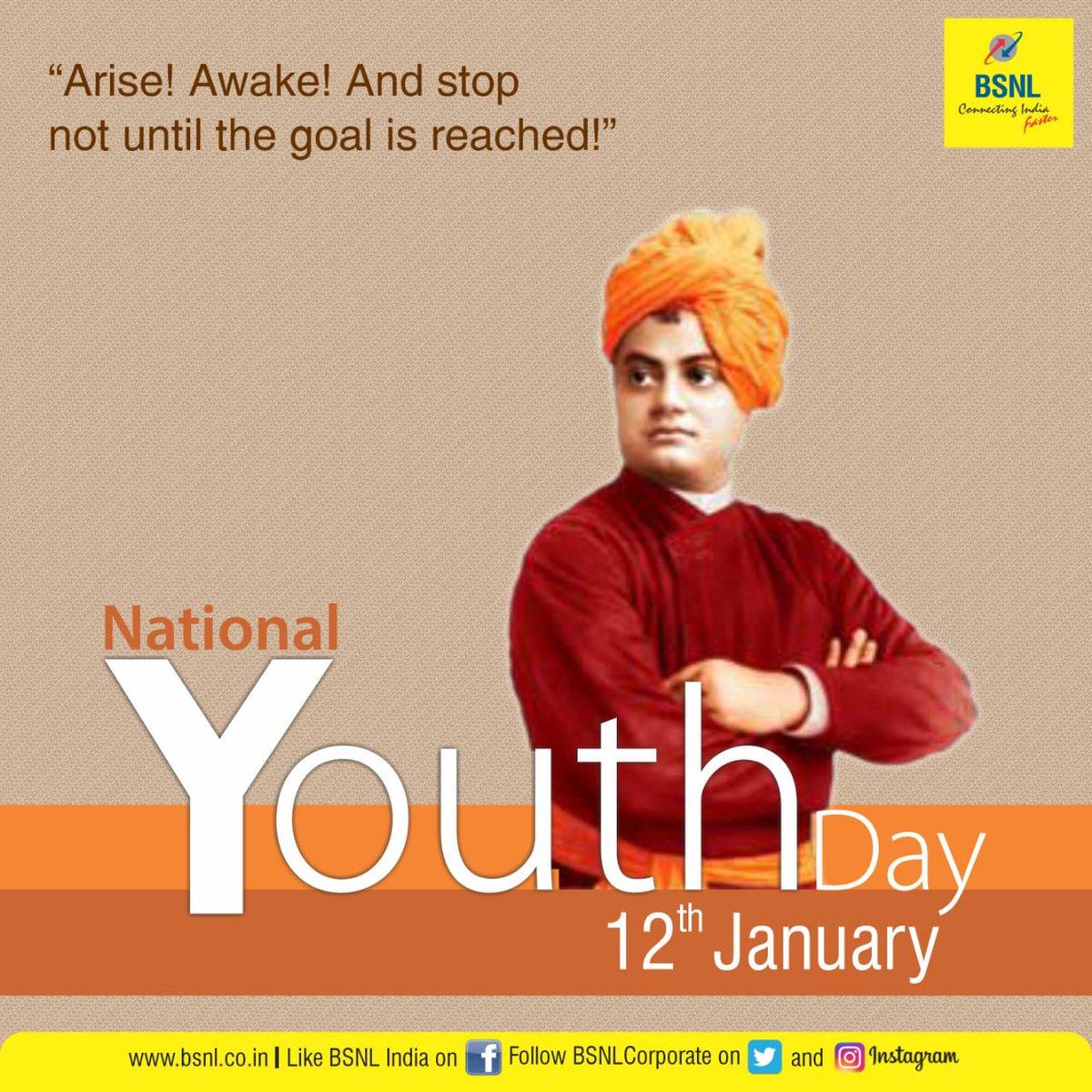 This #NationalYouthDay, let's remember #SwamiVivekananda's teachings and values. #SwamiVivekanandaJayanti #Unite2FightCorona