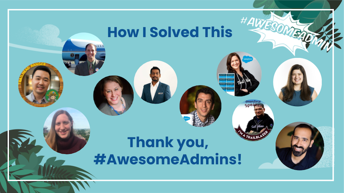 "Last year, we launched ""How I Solved This,"" a series where we dive into a specific business problem and share how one #AwesomeAdmin chose to solve it. With over 10 solutions written & shared, we put them all in one place for you to explore →"