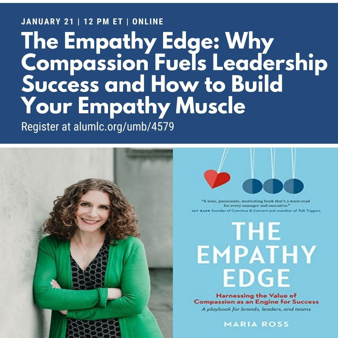 """Tune in on Thursday, January 21 for our next Beacon webinar event: """"The Empathy Edge: Why Compassion Fuels Leadership Success and How to Build Your Empathy Muscle."""" Learn more and register now at"""