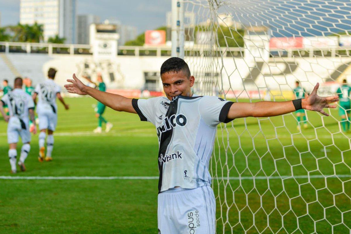 Bezona 2020 - Final no Majestoso - Ponte Preta 2 x 2 Cuiabá - os gols da Macaca foram marcados por Bruno Rodrigues (Foto) e Orobó. https://t.co/y7Hl8L0sna