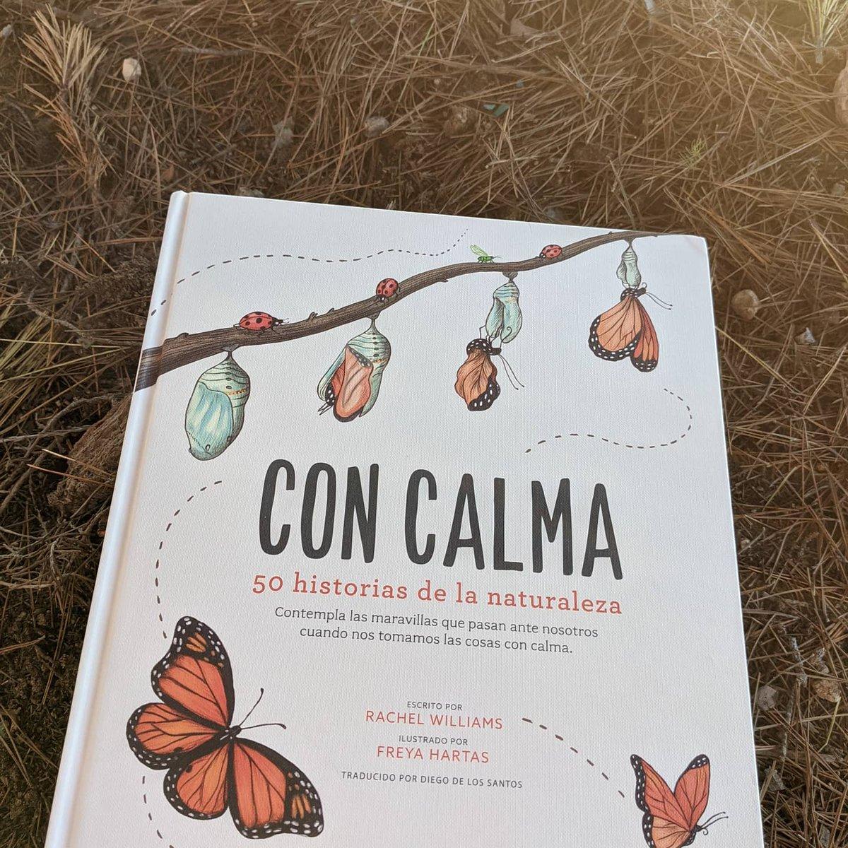 #hoyleemos #concalma de @EdFlamboyant un libro precioso con 50 historias sobre la #naturaleza, para leer con calma y observar con calma...🥰🦋🦋🦋⏬  #libros #LibrosRecomendados #librosinfantiles #lecturas