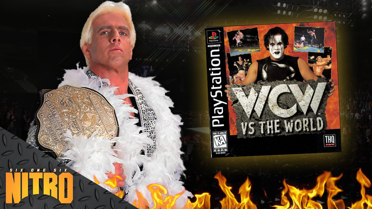 616Entertainment - WOOO!!!! Who wants to earn Ric Flair's 17th World Championship with me? That's the move this week on 616Nitro, we're taking The Nature Boy all the way to the gold in 1995's WCW vs. The World on the PlayStation. Let's get to it!