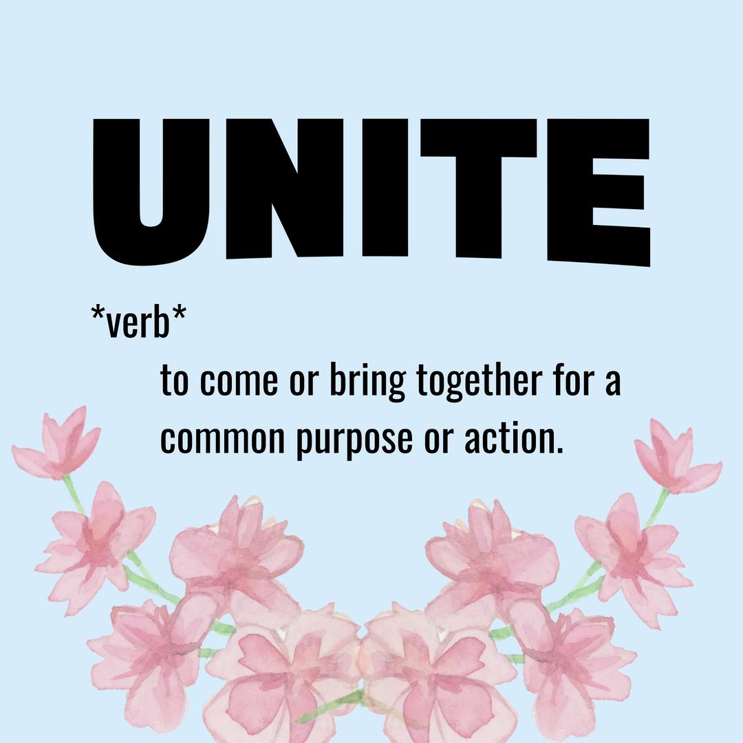 How do you define UNITE? #answeringthecall