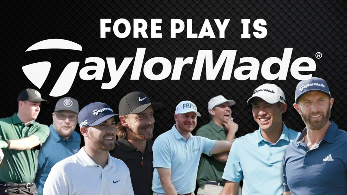 Replying to @ForePlayPod: Fore Play is TaylorMade  #TeamTaylorMade @Taylormadegolf