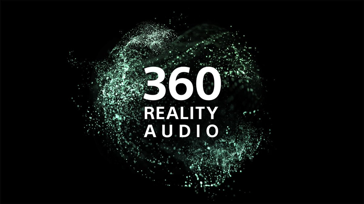 تذكروا هذا الشعار قريباً 🤩 360 reality audio #SONY #360RA