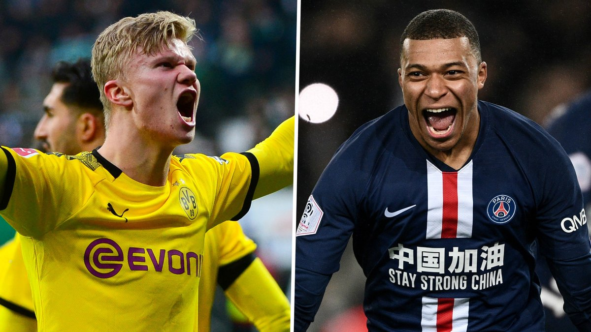 Replying to @elchiringuitotv: 📊¿A quién PREFIERES?  🔁RT: HAALAND ❤️MG: MBAPPÉ  #ElChiringuitoDeMega