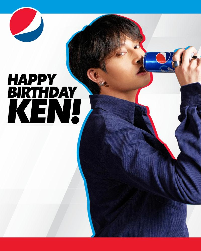 Happy birthday, @keun16308352 🥳 Tuluy-tuloy lang ang hataw and know that your Pepsi Fam has your back! 🕺🏽💙 #SundinAngPuso