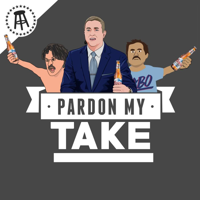 You're Coors guys. We're Coors beer. Seems right.   Great to be partnering with @PardonMyTake. Check out the latest Podcast featuring @KirkHerbstreit: