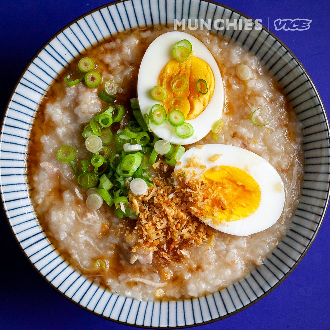 "Leah Cohen, chef and author of ""Lemongrass and Lime: Southeast Asian Cooking at Home,"" is making arroz caldo, one of her favorite Filipino comfort foods.   Watch here: https://t.co/F7BnxbMayA https://t.co/rSywmAkVoQ"