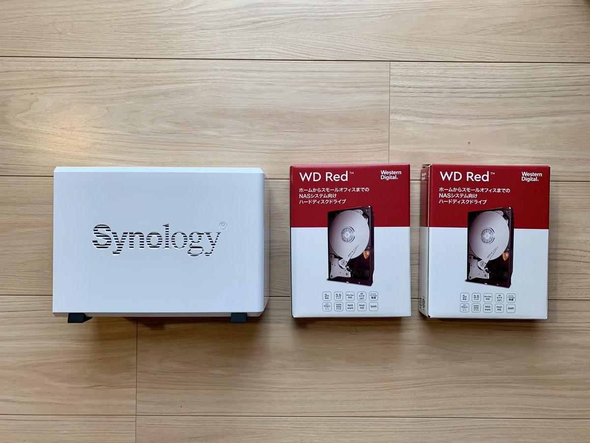 今日からNAS生活。 設定はそんなに難しくなかったけれど、アプリに少しクセがあるね。慣れれば問題ないなさそうだけれども😇 #Synology #nas https://t.co/LfAng2BJhX