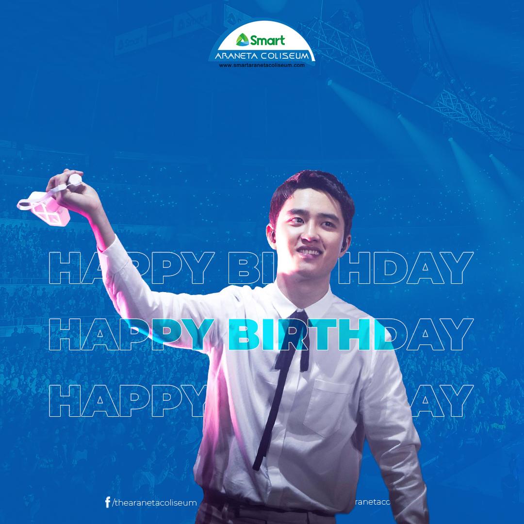 Happiest birthday to @weareoneEXO's Kyungsoo! 🥳🎂  #HappyDOday #DYODAY2021 #EXO #TheBigDome