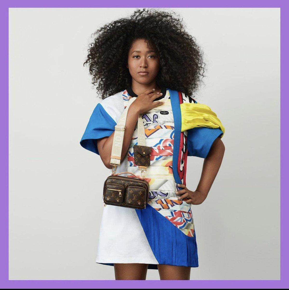 Replying to @revolttv: Congrats to #NaomiOsaka, she is now #LouisVuitton's newest brand ambassador. @naomiosaka 👏🏿👏🏿
