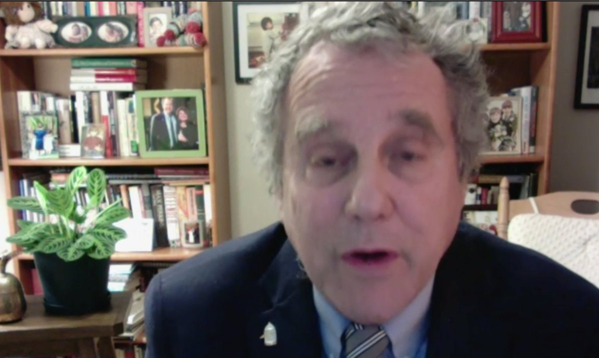 """I think you do it immediately because you really do want to show that we are serious about accountability,"" says Sen. Sherrod Brown on a Senate trial to impeach Trump.  ""You really do want to show that we are serious about accountability... the Senate can do two things at once."""