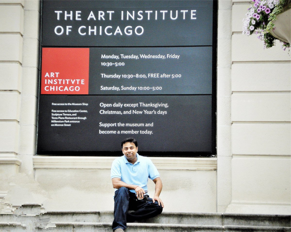 My fond memories of Chicago at #ChicagoArtCenter and Glen , Chicago #RamaKrishnaMission   #NationalYouthDay  #SwamiVivekanandaJayanti  #স্বামী_বিবেকানন্দ 🚩🙏