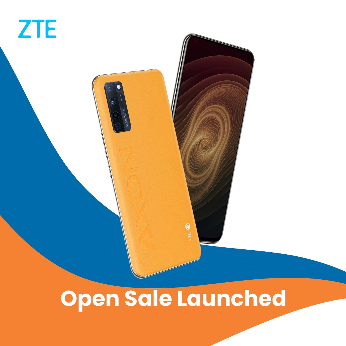 Open sales for the ZTE Axon 20 5G Sunrise Yellow Edition are now officially launched. Try out a piece of the future by ordering yours today: https://t.co/HVZHOFdvFl https://t.co/jK6SHoYPJd
