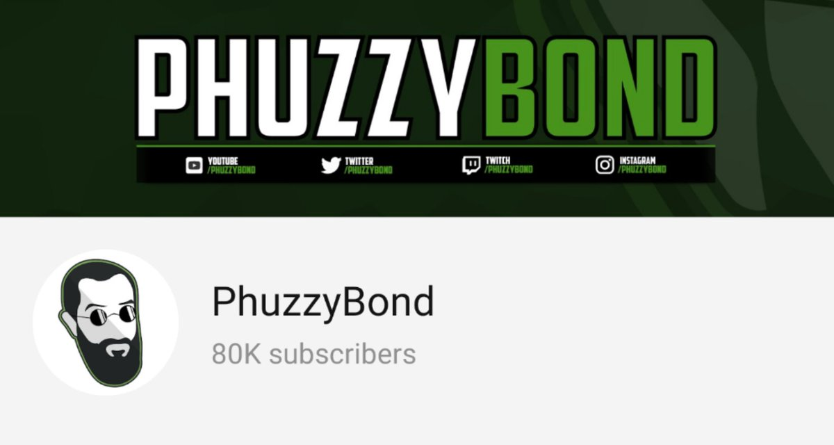 PhuzzyBond - Waking up to 80k subs! Thank you, we're almost there.😊✅
