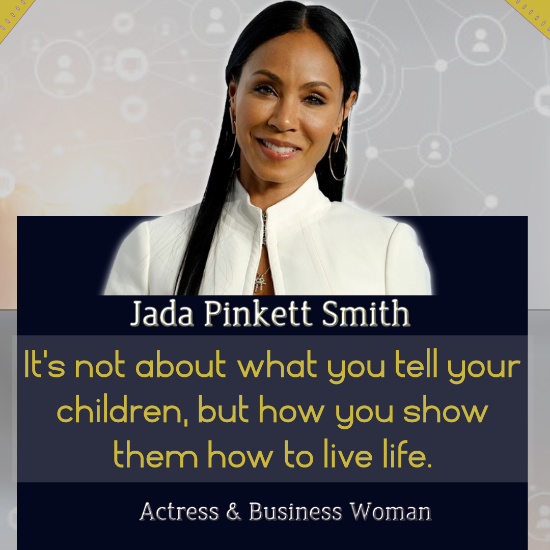 Repost: In agreement with @jadapsmith what do you teach your kids by action? #followme #coach4charity #redtabletalk #tigerking #WillFromHome #WorldHealthDay  #LetGoLetGod #dontletpeoplesmessgetyouintoamess  #BLACKLIVESDOMATTER #savagechallenge #GamsQuarantineShowout