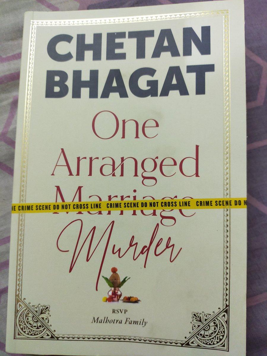 Finally got my copy @chetan_bhagat #OneArrangedMurder
