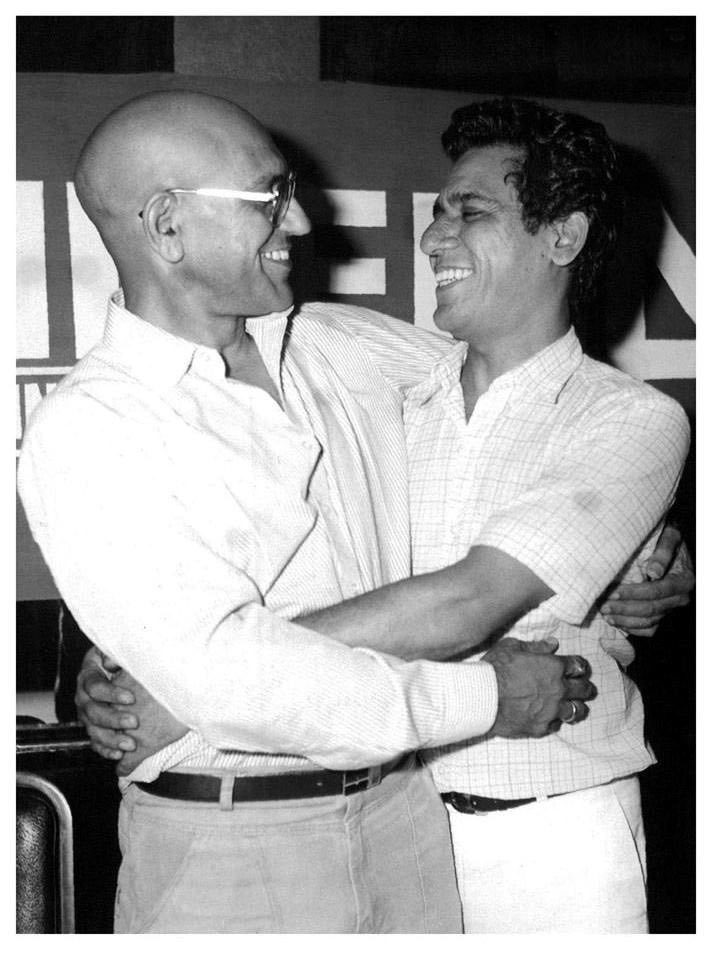 find a tweet with better bass  Amrish Puri and Om Puri