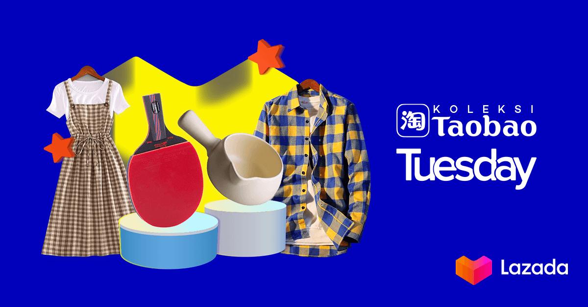 Hari Selasa ini ada yang spesial nih! TaoBao Tuesday punya banyak pilihan yang lagi promo sampai dengan 80% loh! Selain itu kalian juga bisa dapatkan voucher hingga 50%! Tunggu apalagi? Langsung cek disini:   #LazadaNewYearSale #YakinDariHati #LazadaID
