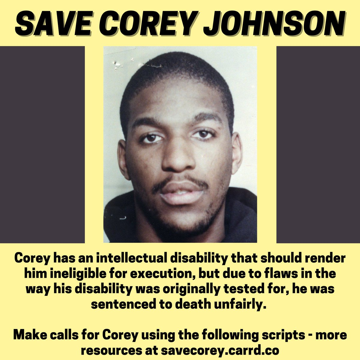 I've compiled a bunch of resources related to the Corey Johnson case at , I'd be hugely grateful if you checked these out and did some of the actions!! #SaveCoreyJohnson #SaveCorey