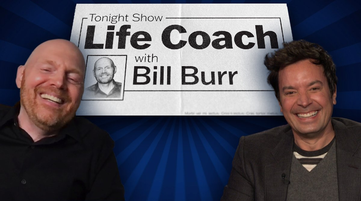 Ever know a friend for 2 decades and they decide to run the world? @billburr