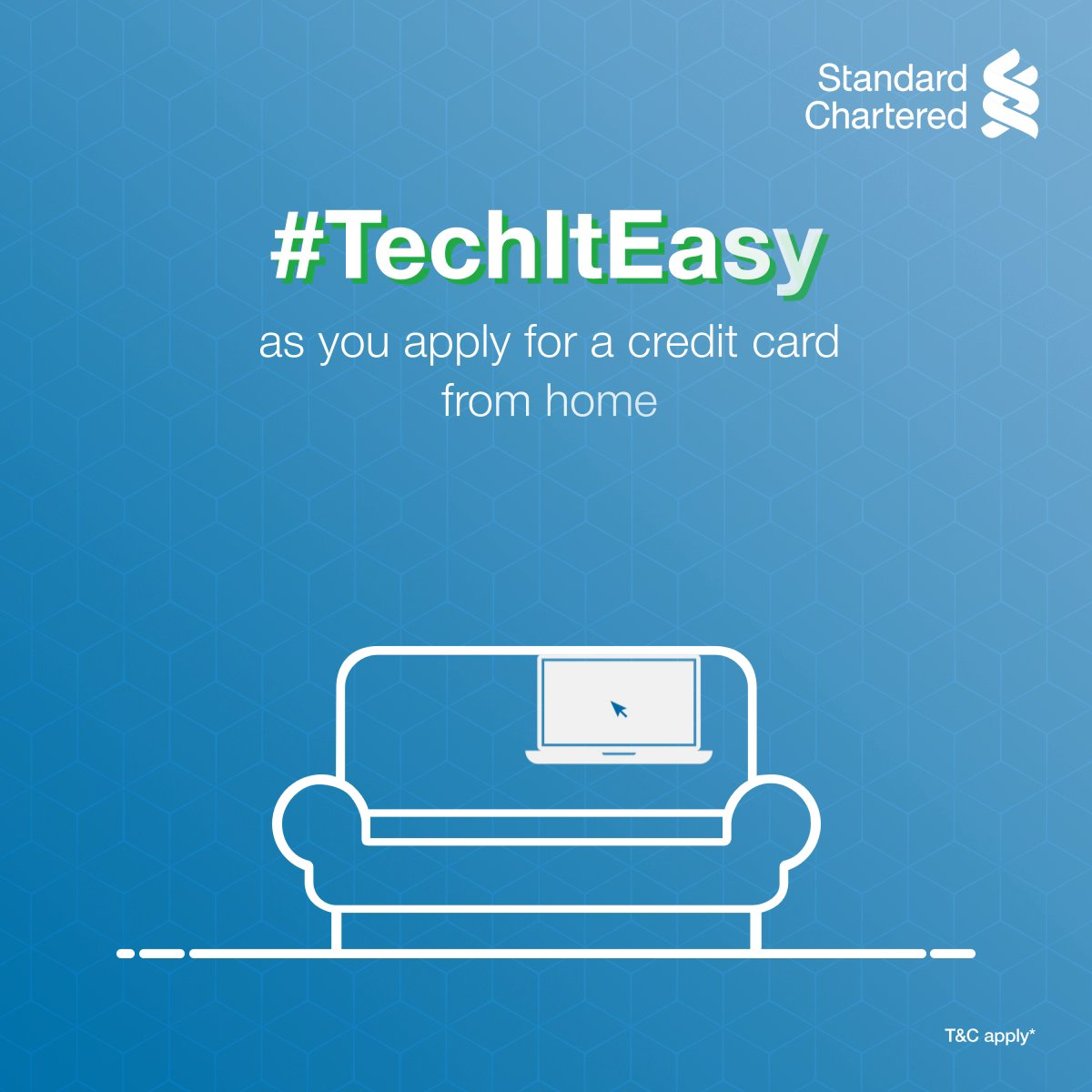Your driver may take time, but applying for a credit card won't! #TechItEasy & enjoy privileges, without waiting for a week, with a Virtual Credit Card! ✅Fill the online form ✅Verify your documents with a Video KYC  ✅Get your credit card! To know more,