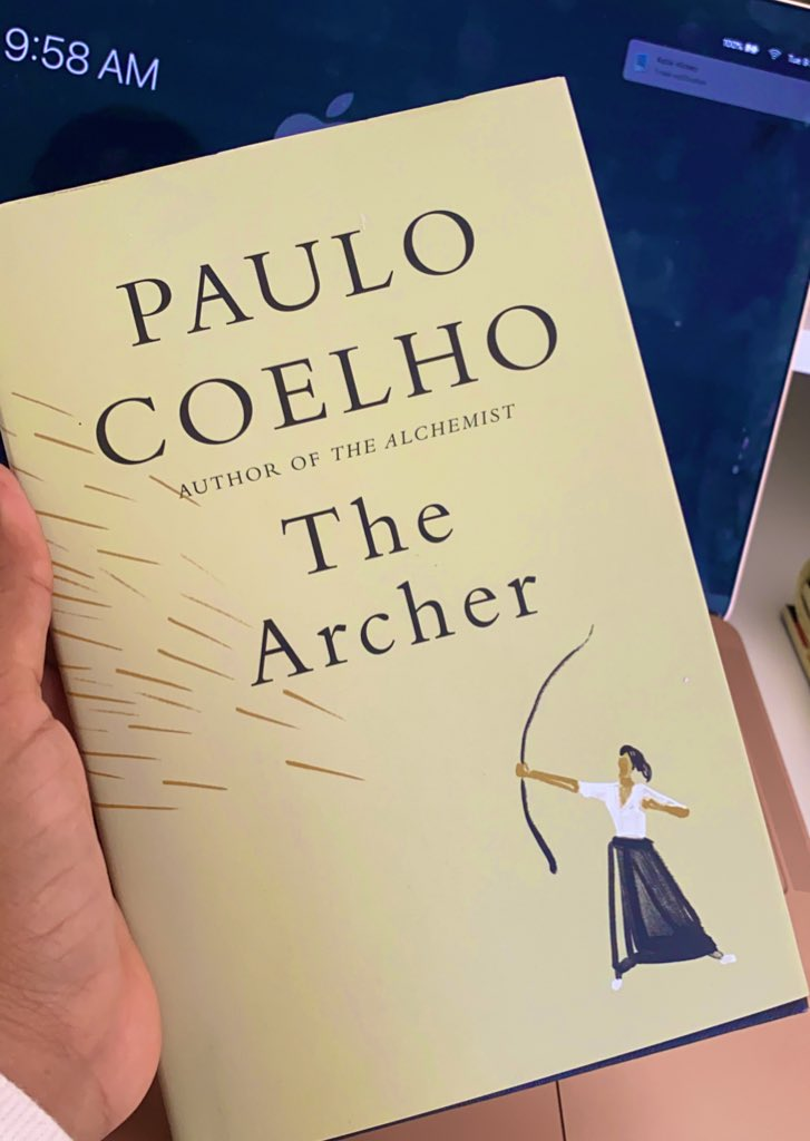 Let's jump into this new journey #TheArcher @paulocoelho
