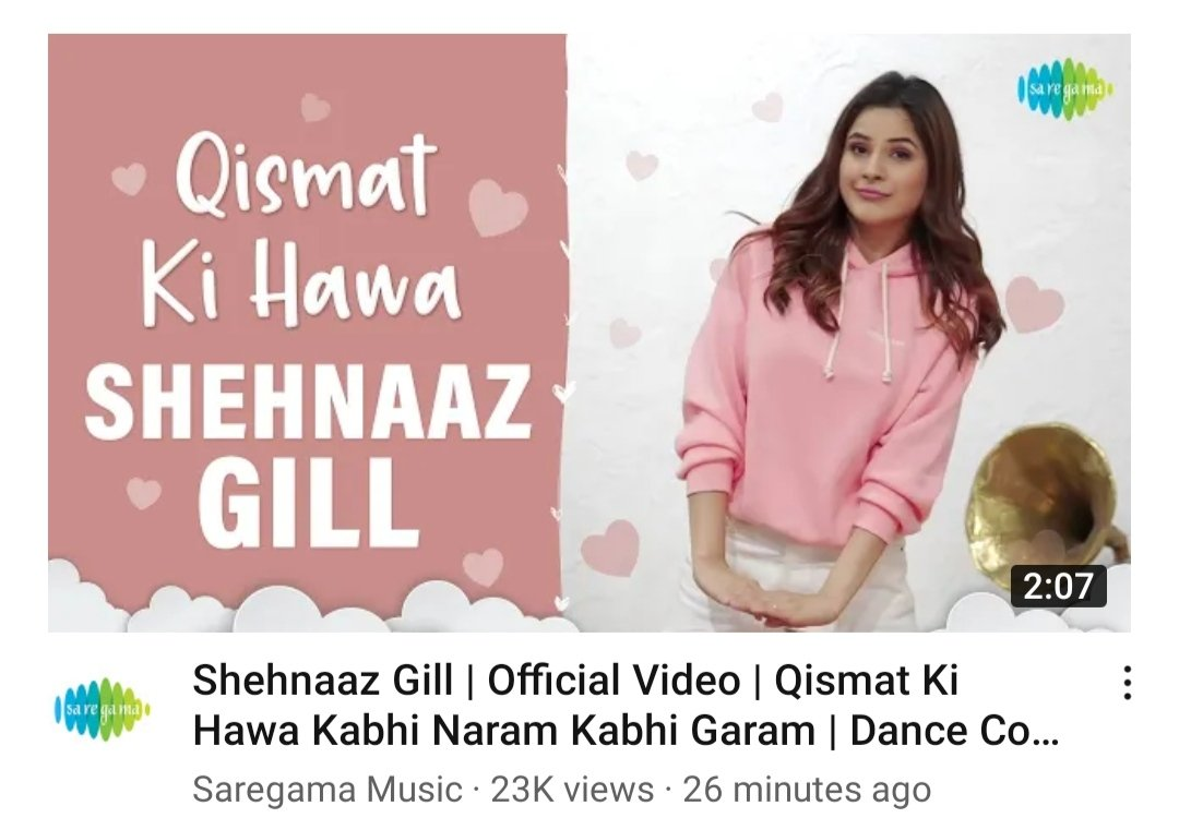 SHEHNAAZs DANCE COVER has just released and  #Sidnaaz fans are loving it!   P.S - We want more dance covers 🤪 @ishehnaaz_gill   #Sidk #ShehnaazGill #Shehnaazians #cover #dance #dancecover