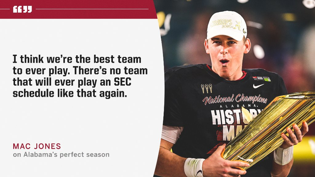 @SECNetwork's photo on Mac Jones