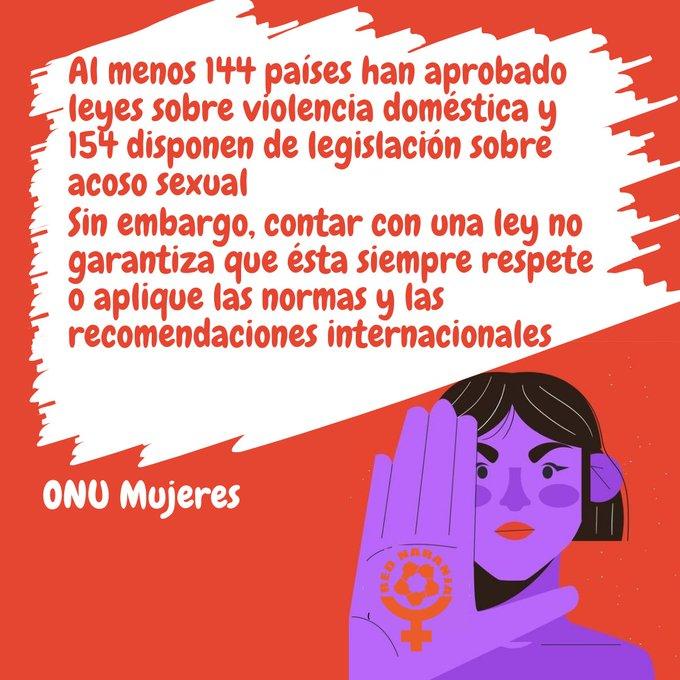 ⚠️ Los estados tienen la responsabilidad de reforzar la acción para poner fin a la violencia contra las mujeres y las niñas  ¡No basta solamente con promulgar leyes!  Es necesario hacer mucho más